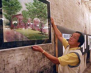 「1人1人が赤レンガ建物の将来像を考えてくれれば」と話す永田創一さん=半田市榎下町の半田赤レンガ建物で<br />